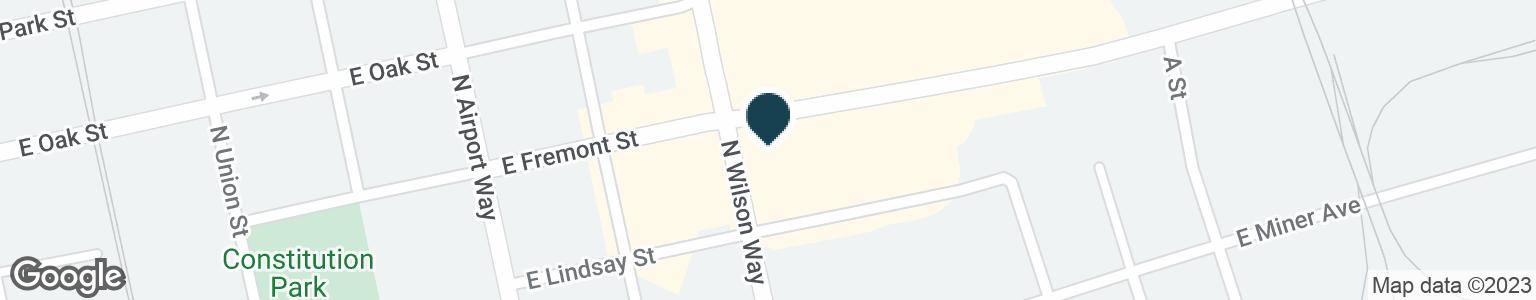 Google Map of1528 E FREMONT ST