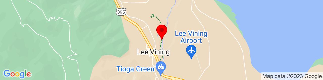 Google Map of 37.9609079, -119.1171303