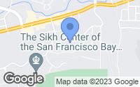 Map of El Sobrante, CA