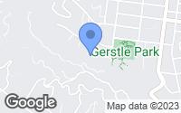 Map of San Rafael, CA
