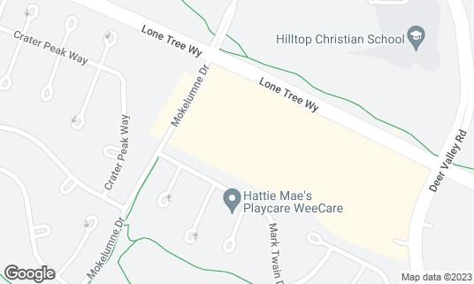 Map of AMC Deer Valley 16 at 4204 Lone Tree Way Antioch, CA
