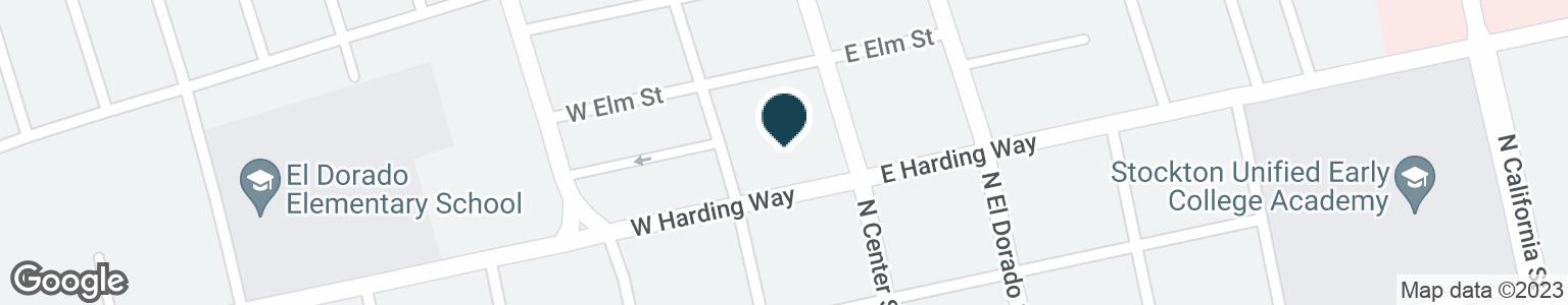 Google Map of15 W HARDING WAY