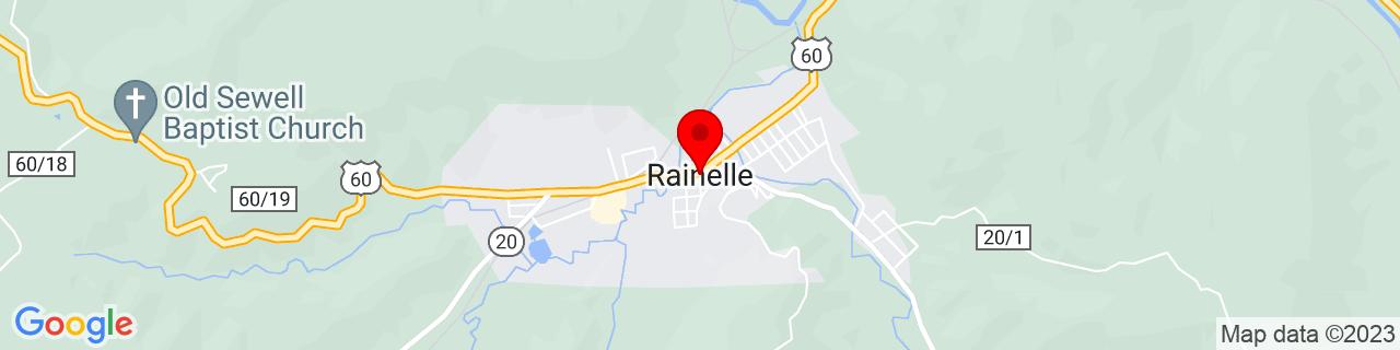 Google Map of 37.9687279, -80.7670342