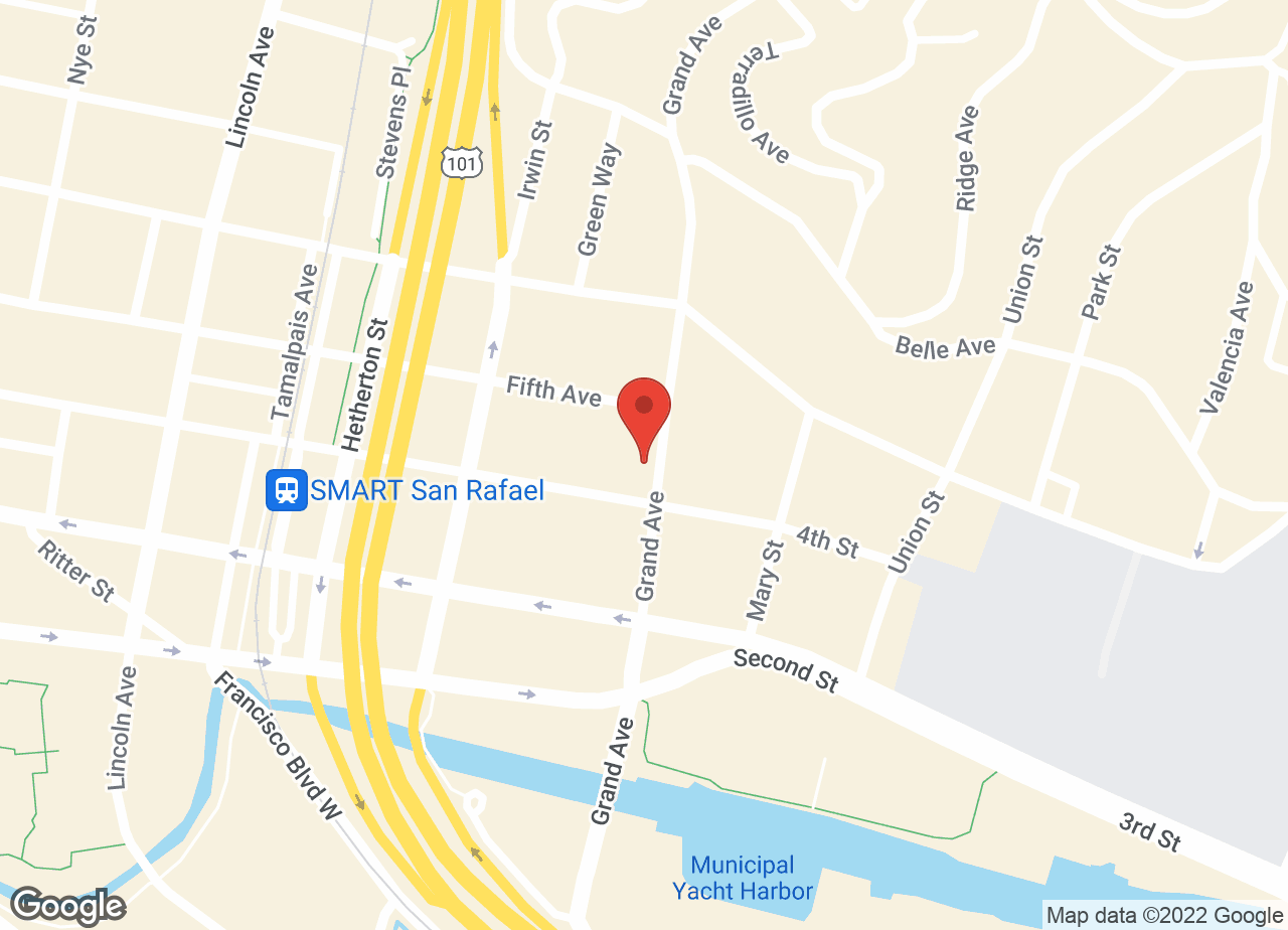 Google Map of VCA Animal Wellness Center of Marin