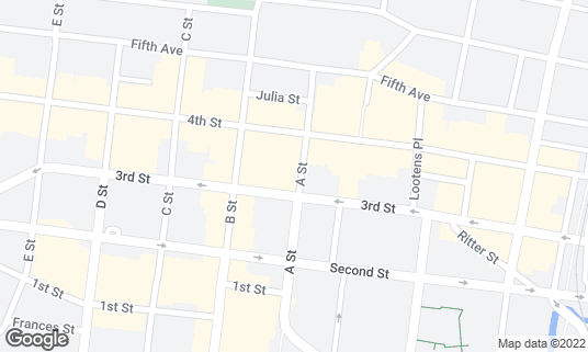 Map of Il Davide at 901 A St San Rafael, CA