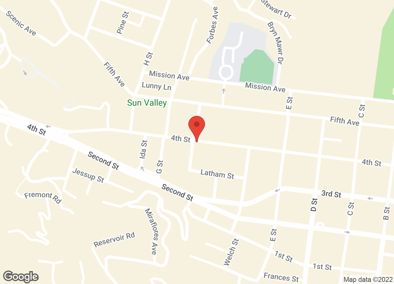 Google Map of VCA Tender Care Animal Hospital
