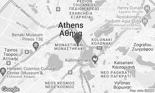 Map of Ermou Street 22 in Athens