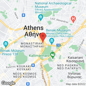 Map of Salvatore Ferragamo at Stadiou Street 4, Athens, Αττική 10564