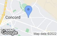 Map of Concord, CA