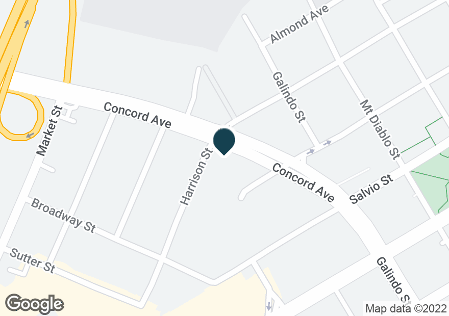 Google Map of1800 CONCORD AVE