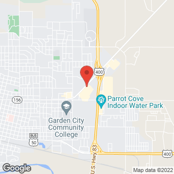 Map of Check `n Go at 2312 East Kansas Avenue, Garden City, KS 67846