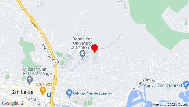 Google Map of 75 Magnolia Ave, San Rafael, CA 94901