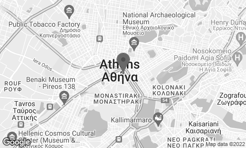 Map of Notos Department Stores in Athens