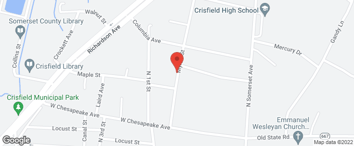 LOT W MAIN ST Crisfield MD 21817
