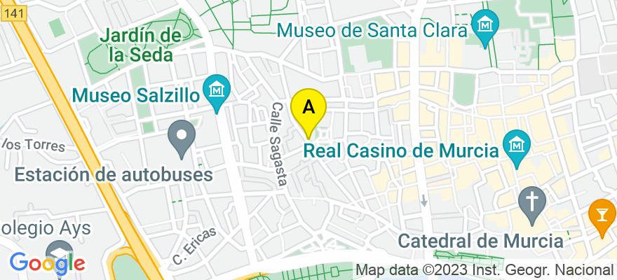 situacion en el mapa de . Direccion: Avenida Río Segura, nº5, 4B, 30002 Murcia. Murcia