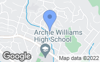 Map of San Anselmo, CA