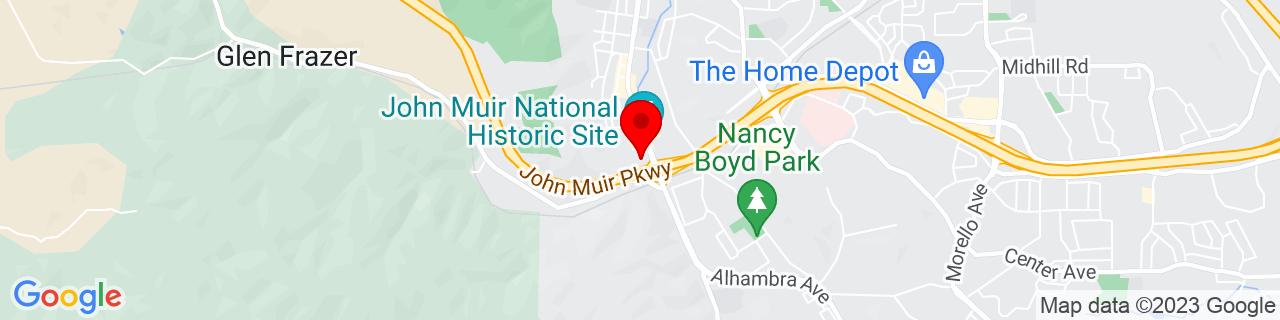 Google Map of 37.9912941, -122.1313368