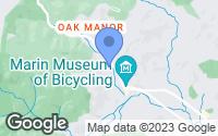 Map of Fairfax, CA