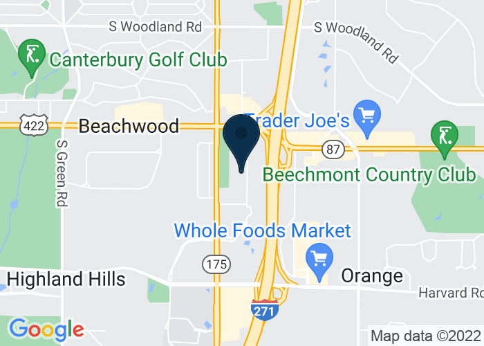 Map of 3700 Park East Dr, Suite 300, Beachwood, OH 44122, United States