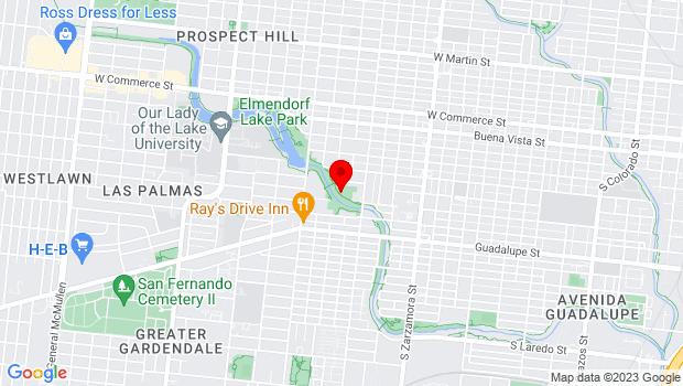 Google Map of 3700 W. Commerce Street, San Antonio, TX 78207