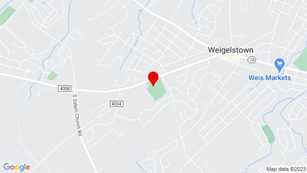 Google Map of 3700-3 Davidsburg Road, Dover, PA 17315