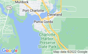 Map of Punta Gorda RV Resort