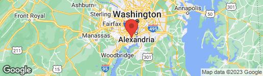 Map of 3705 HUNTLEY MEADOWS LANE ALEXANDRIA, VA 22306