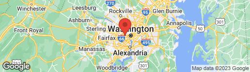 Map of 3706 25TH STREET N ARLINGTON, VA 22207