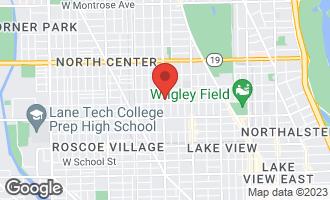 Map of 3713 North Ashland Avenue 1N CHICAGO, IL 60613