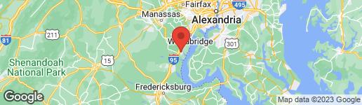 Map of 3713 STONEWALL MANOR DRIVE TRIANGLE, VA 22172