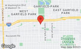 Map of 3718 West Lexington Street #1 CHICAGO, IL 60624