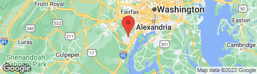 Map of 3721 RUSSELL ROAD N WOODBRIDGE, VA 22192