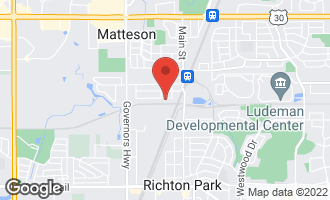 Map of 3723 217th Street MATTESON, IL 60443