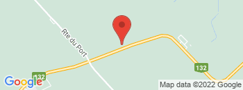 Google Map of 3725+Louis+Frechette%2CNicolet%2CQuebec+J3T+1A1