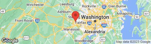 Map of 3729 KEEFER COURT FAIRFAX, VA 22033