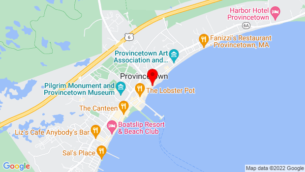 Google Map of 373 Commercial St, Provincetown, MA 02657