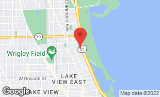 Map of 3730 North Lake Shore Drive 2B CHICAGO, IL 60613