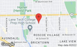 Map of 3731 North Bell Avenue CHICAGO, IL 60618