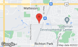 Map of 3735 217th Street MATTESON, IL 60443