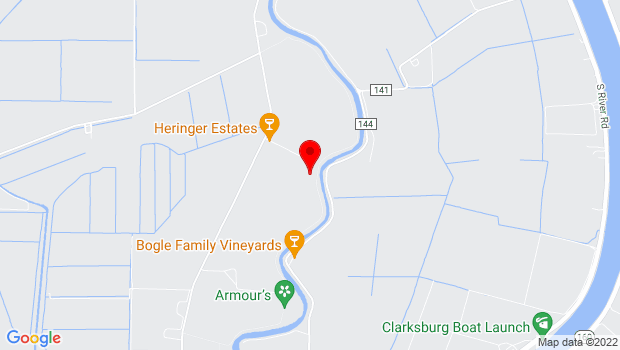 Google Map of 37375 Netherlands Road, Clarksburg, CA 95612