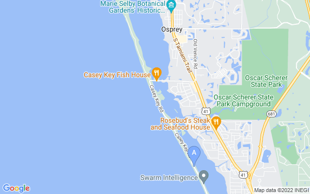 3743 Casey Key Rd Nokomis Florida 34275 locatior map