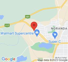 Google Map of 375%2C+Boulevard+Rideau%2CRouyn-Noranda%2CQuebec+J9X+5Y7