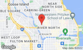 Map of 375 West Erie Street #410 CHICAGO, IL 60654