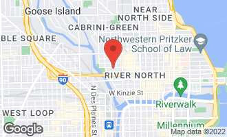 Map of 375 West Erie Street #524 CHICAGO, IL 60654