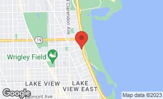 Map of 3750 North Lake Shore Drive 12G CHICAGO, IL 60613