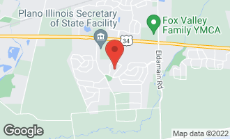 Map of 3750 Pope Court PLANO, IL 60545