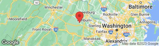 Map of 37628 BERRYMAN LANE MIDDLEBURG, VA 20117