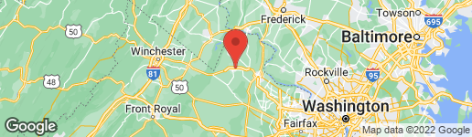 Map of 37756 DRAWBRIDGE WAY PURCELLVILLE, VA 20132
