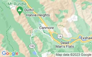 Map of Spring Creek Mountain Village