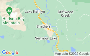 Map of Naikoon Park-misty Meadows